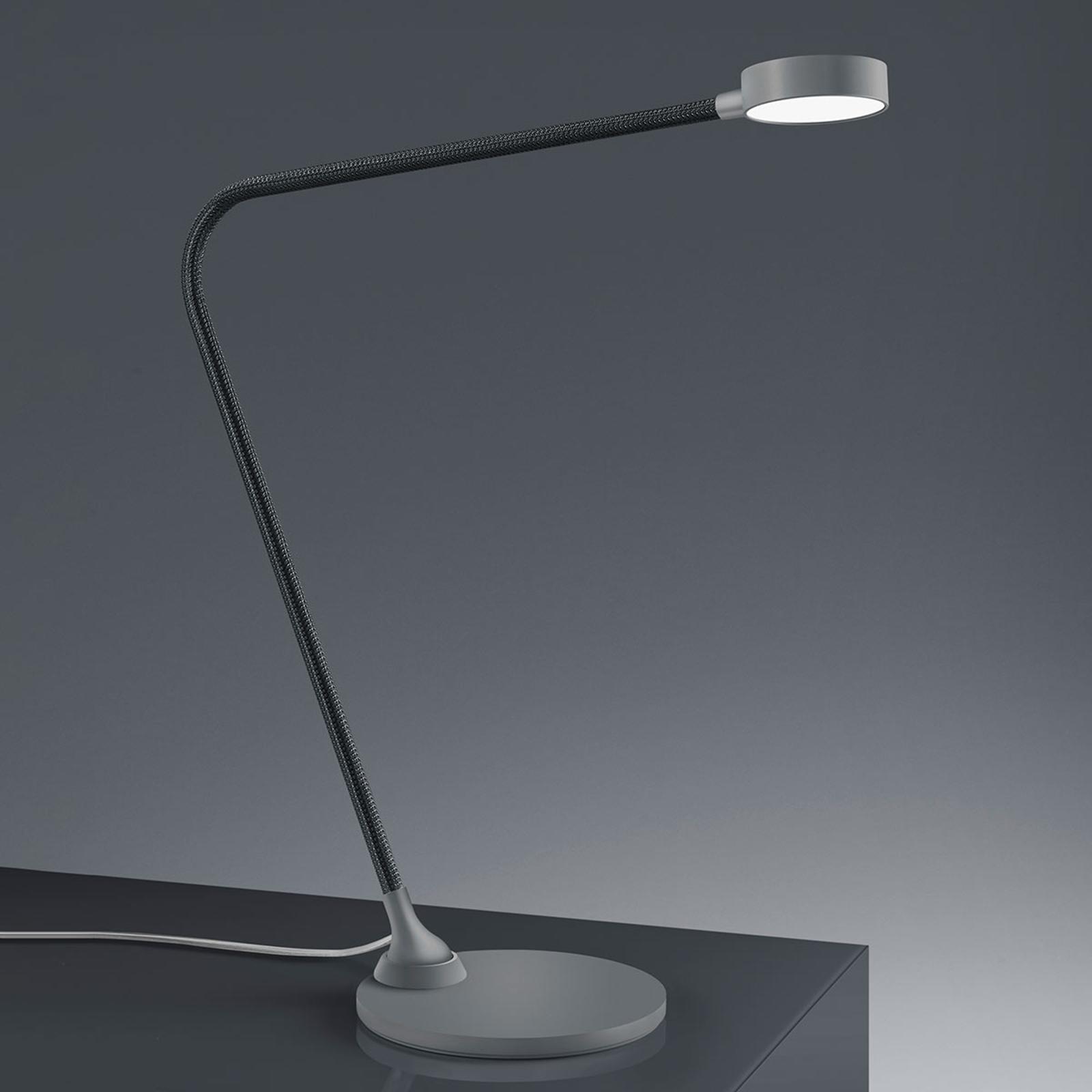 Baulmann 14.107 LED-Tischleuchte, Touchdim, taupe