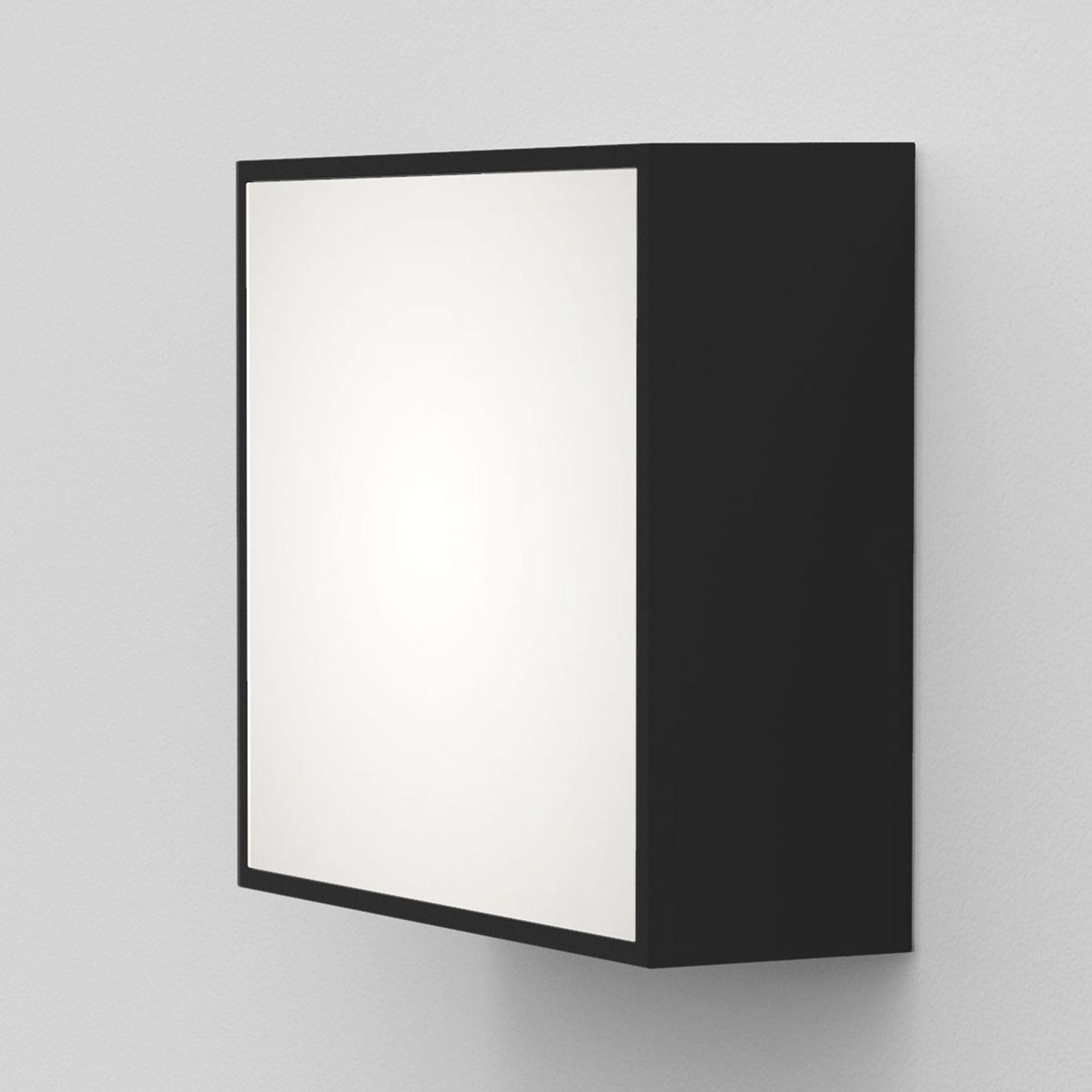 Astro Kea Square 140 LED-Wandleuchte schwarz