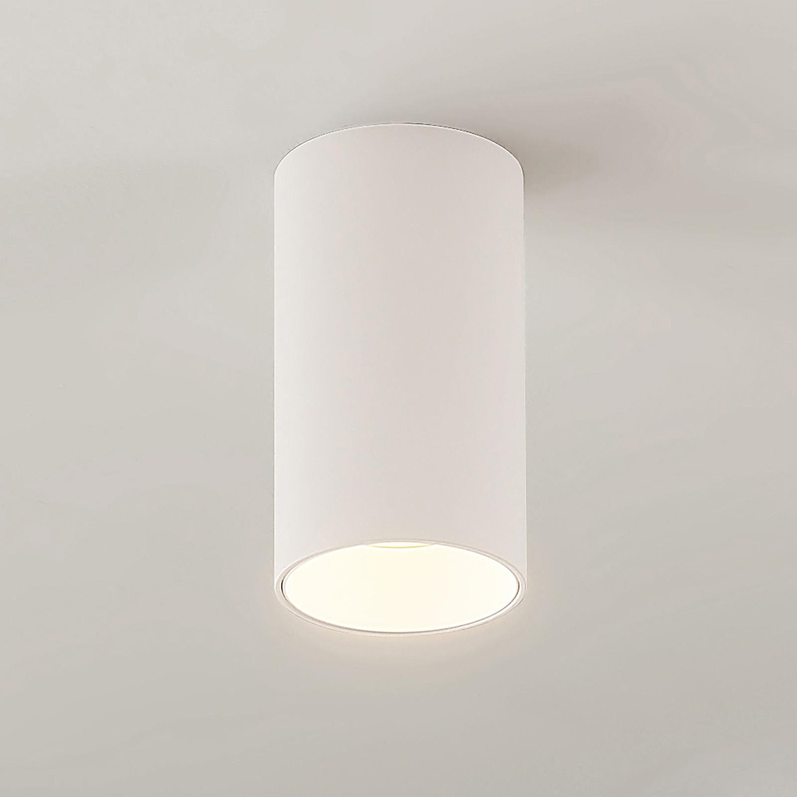 Arcchio Dilana -alasvalo, pyöreä, GU10, valkoinen