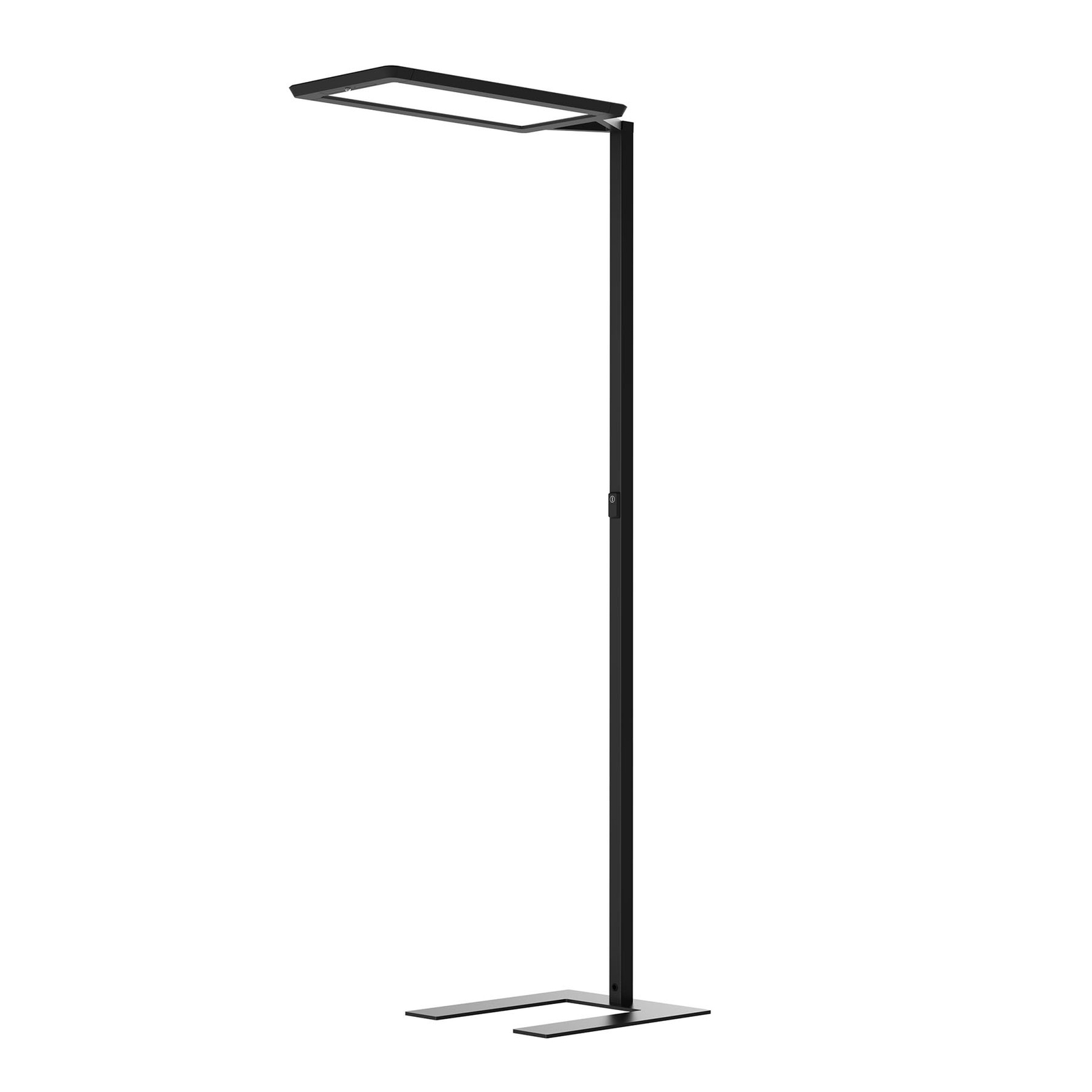 LED-Stehlampe Yara.single VTL, BT, PIR, schwarz