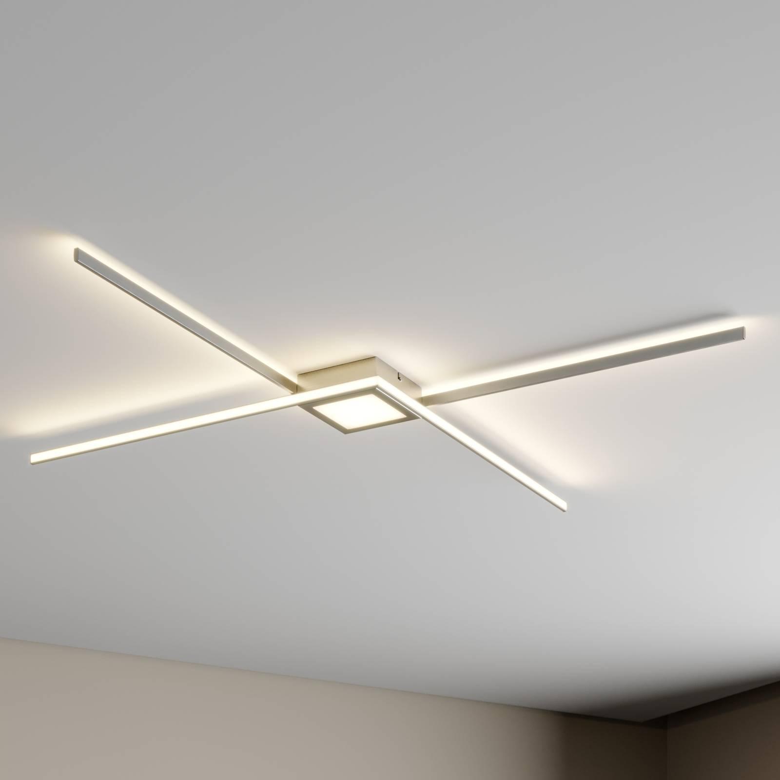 Lindby Makoto LED plafondlamp, 3-traps dimbaar
