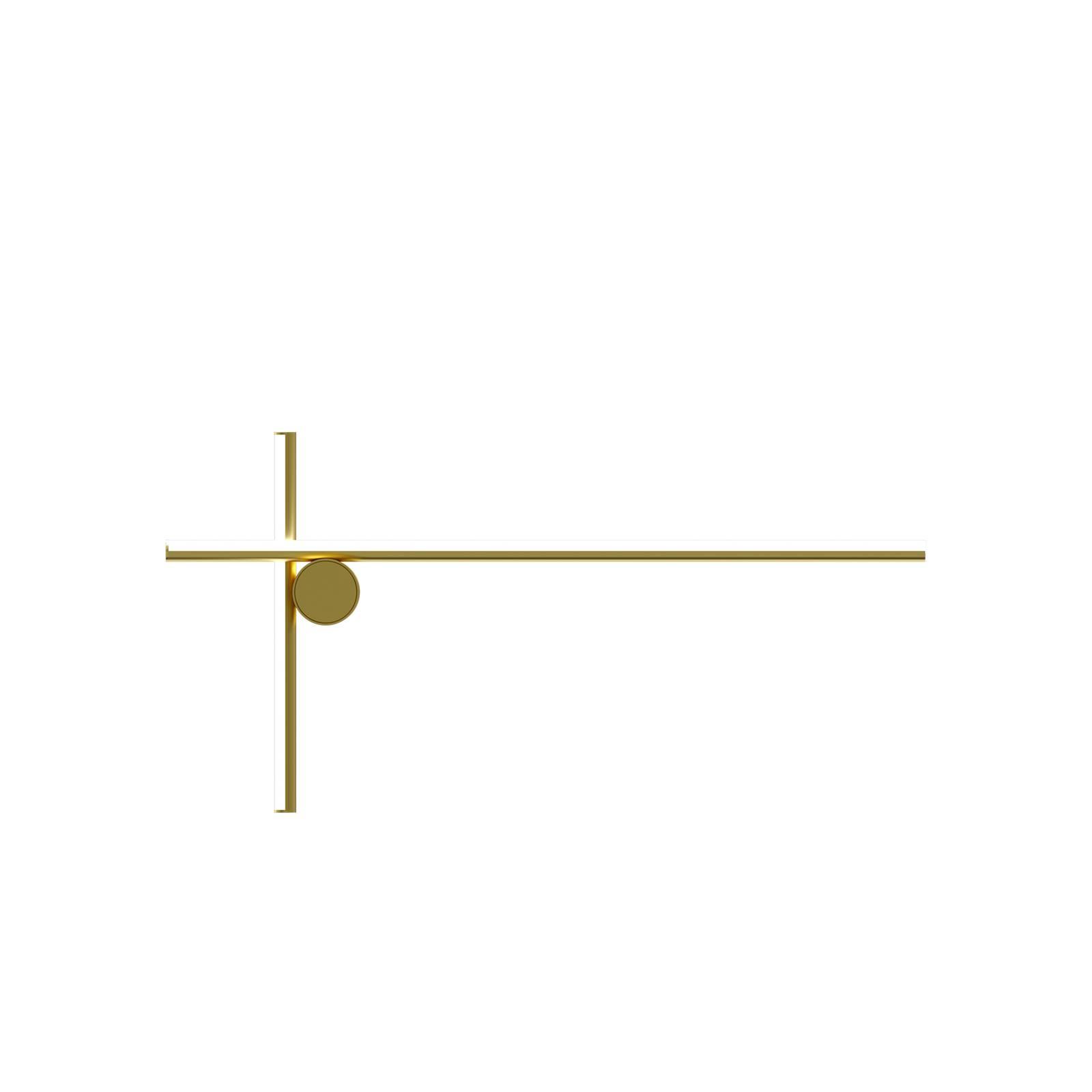 FLOS Coordinates W2 LED-Wandleuchte, champagner