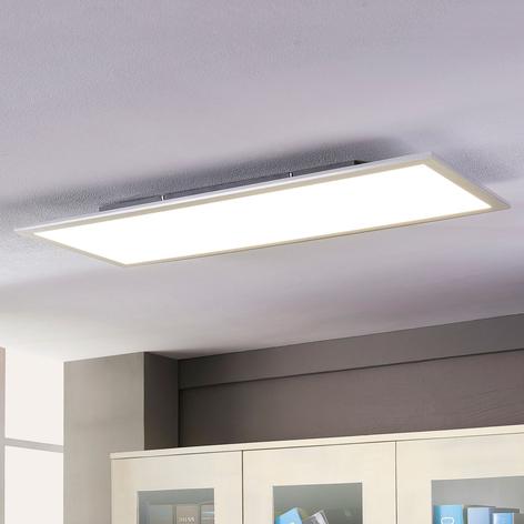 Lindby Livel panneau LED, 4000K, 120cm x 30cm