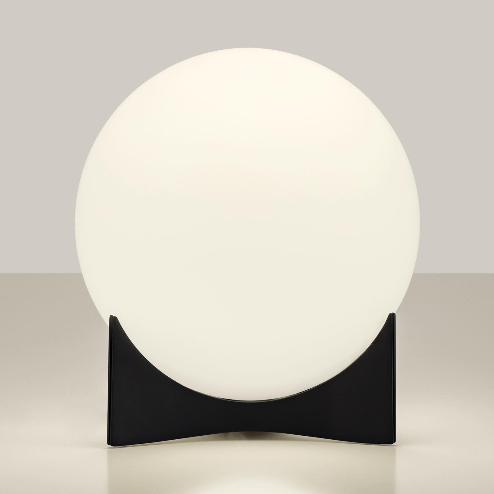 Terzani Oscar lampe à poser en verre, noire