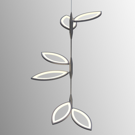 Poikkeuksellinen LED-riippuvalaisin Flavia