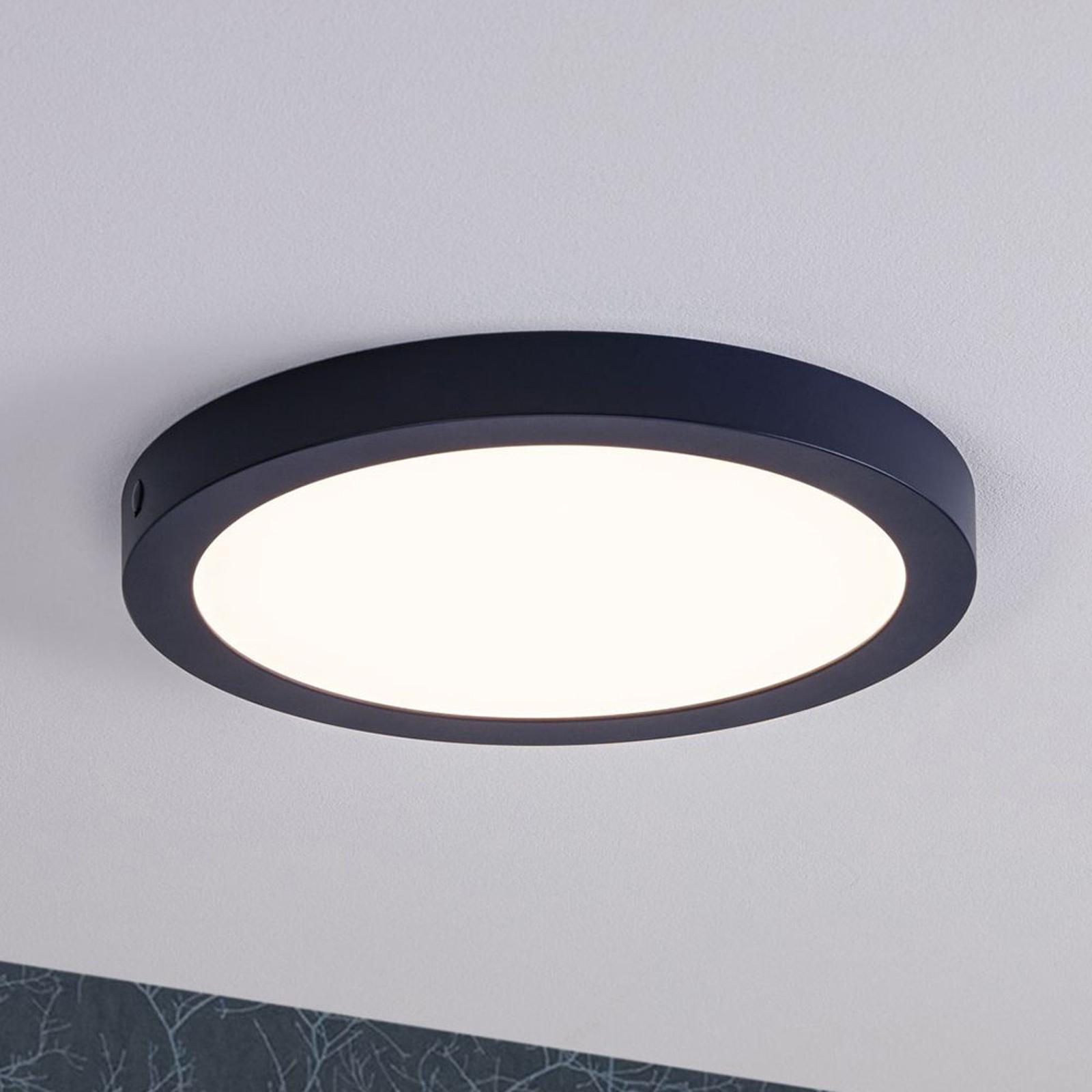 Paulmann LED-Panel Abia, rund Ø 30cm, nachtblau