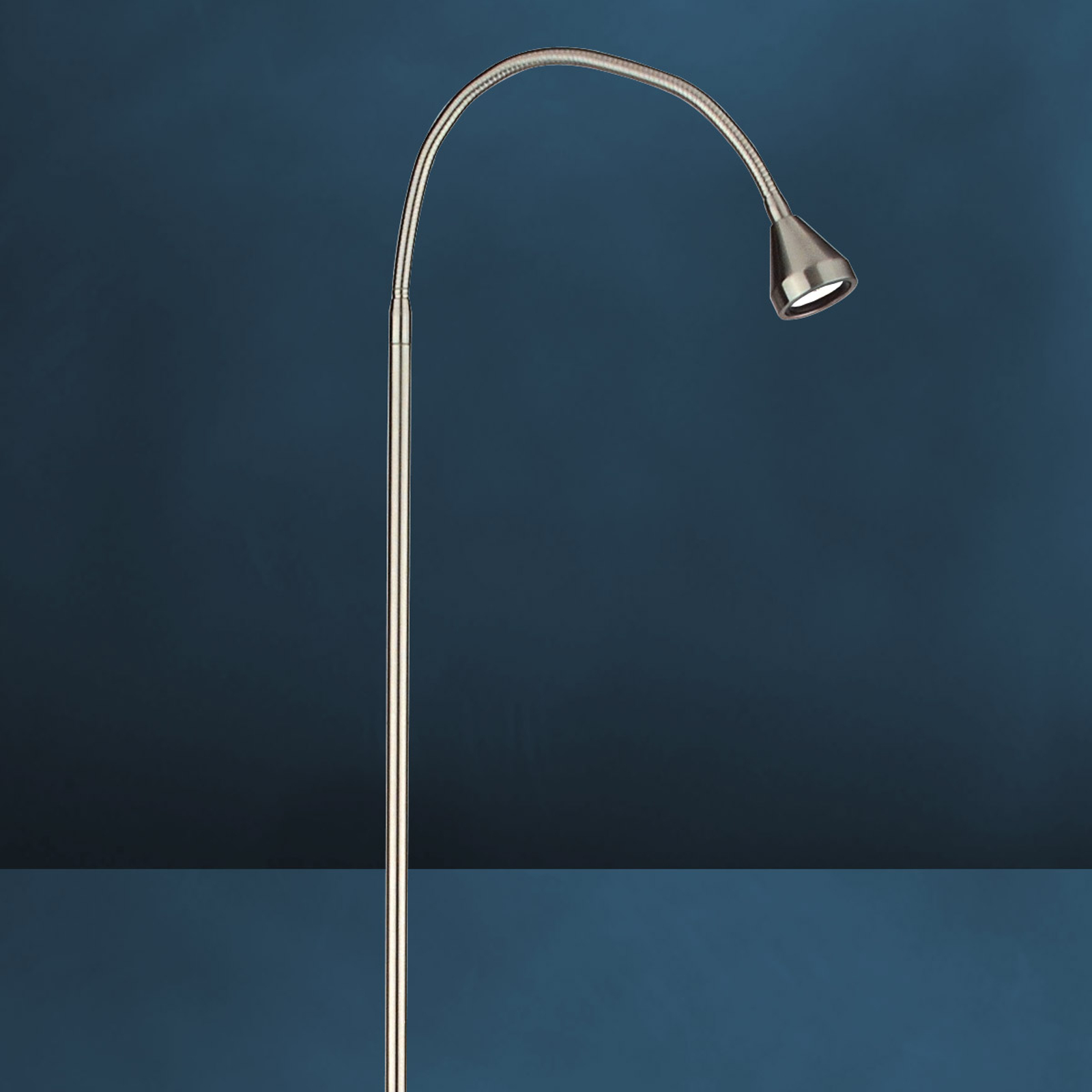Moderní stojací lampa LED MINI, univerzální bílá