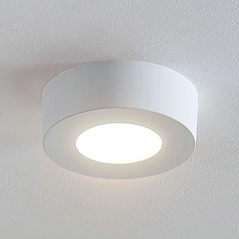 LED-Deckenlampe Marlo weiß 3000K rund 12,8cm