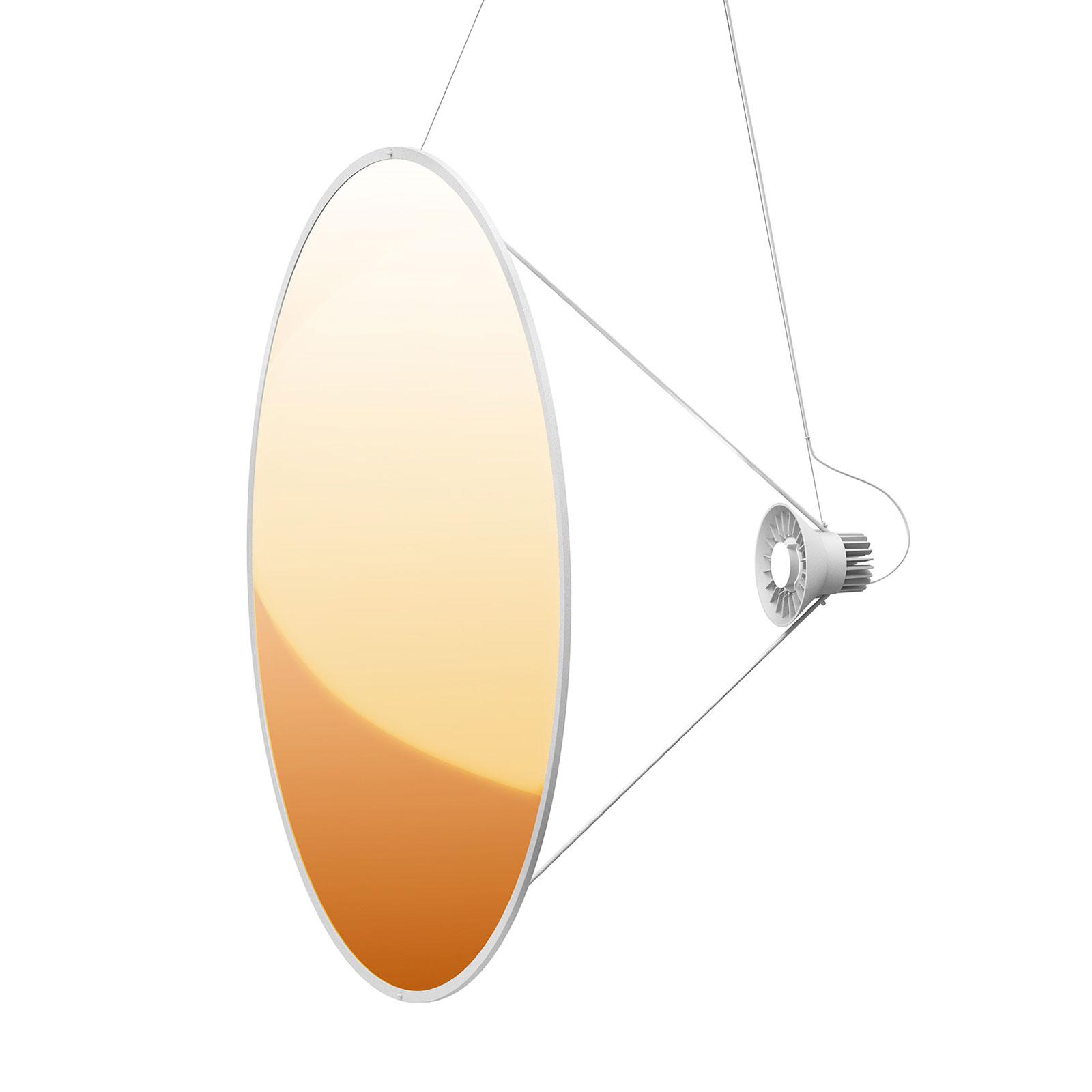 Luceplan Amisol LED hanglamp Ø 110cm goud