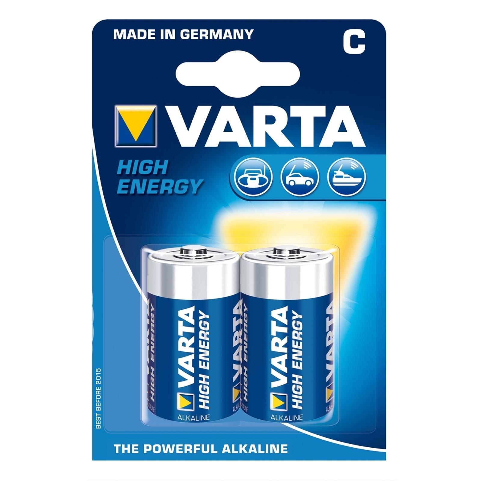 VARTA High Energy baterías Baby 4914 - C