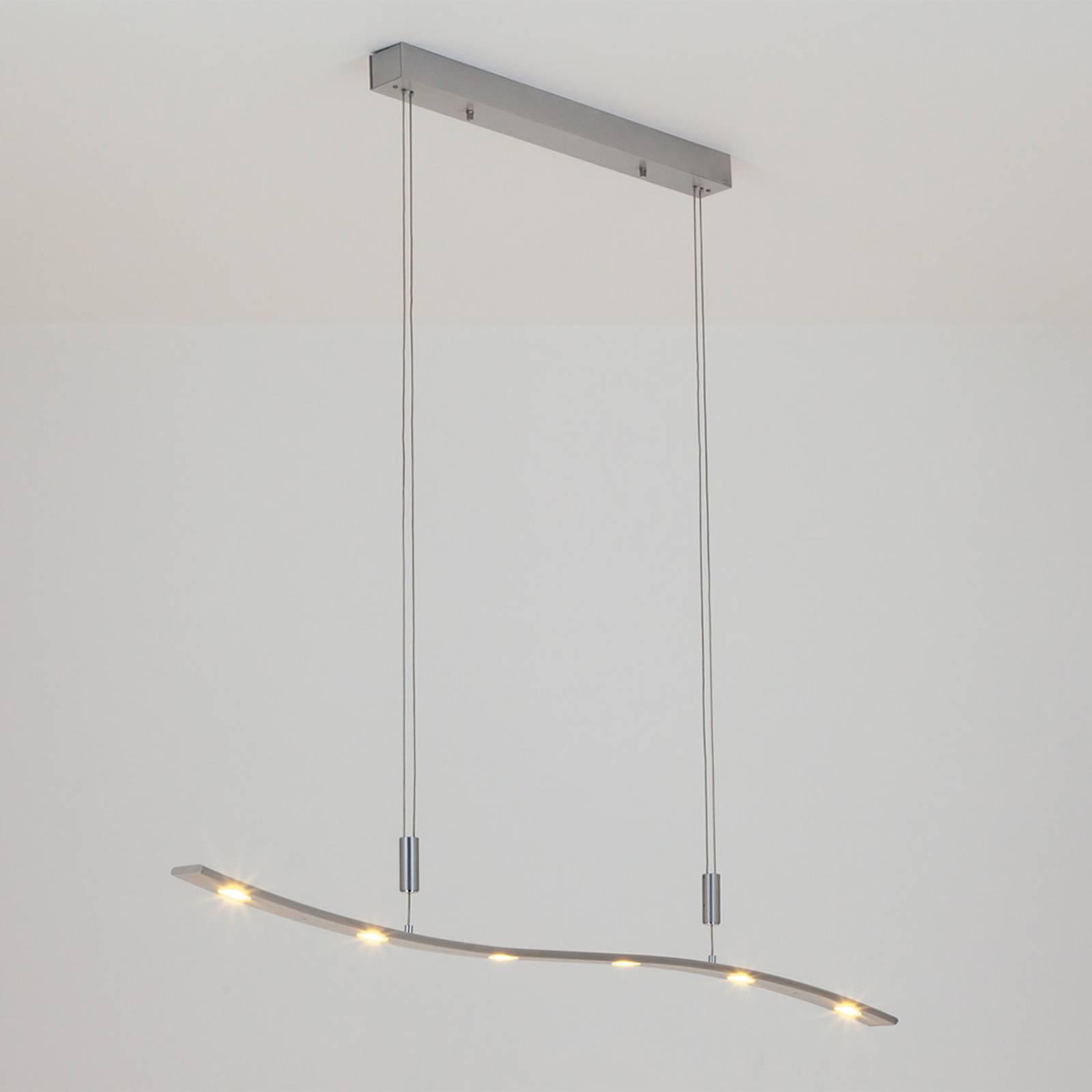 In hoogte verstelbare LED-hanglamp Xalu, 120 cm