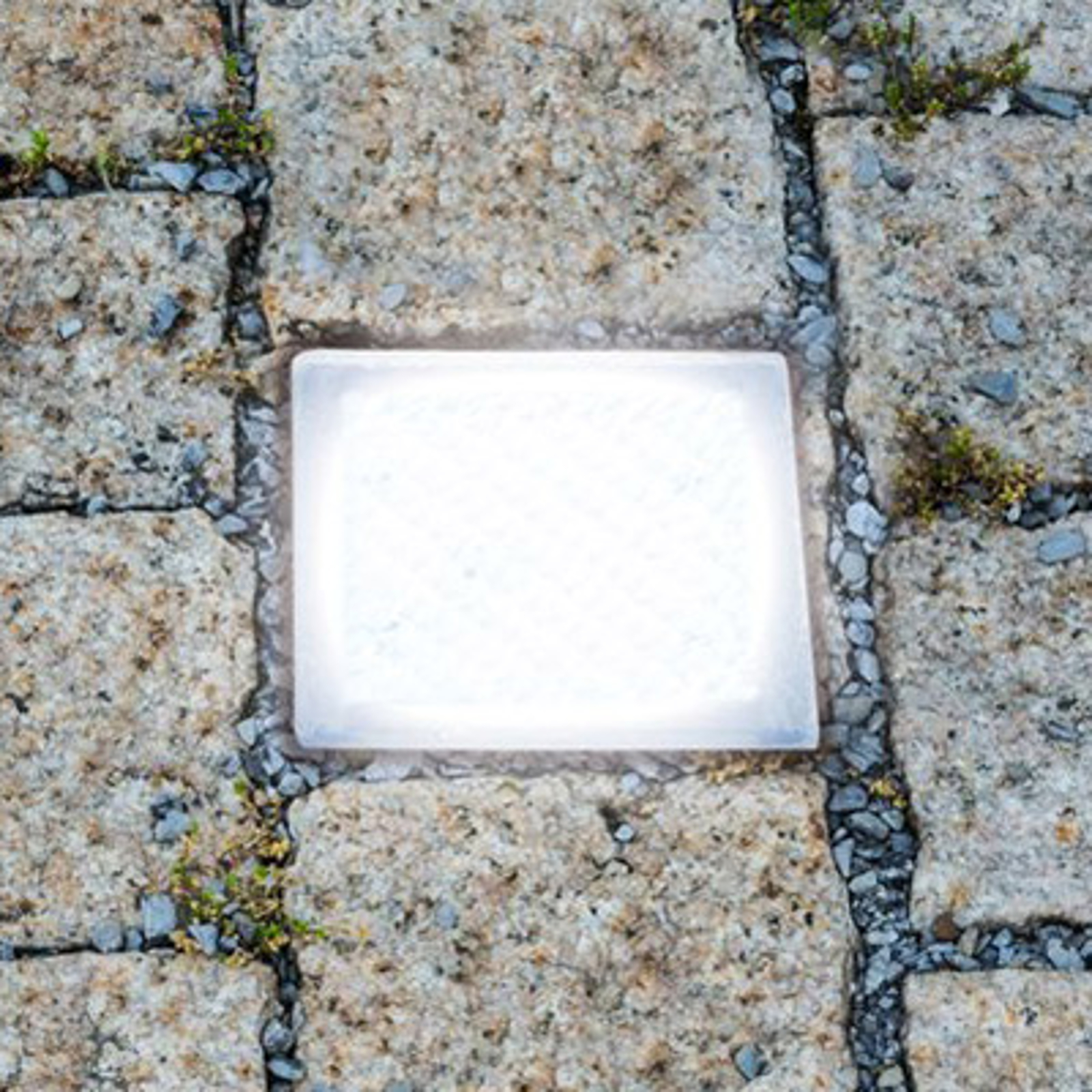 Podłogowa lampa wpuszczana LED Kostka brukowa 10