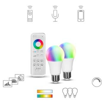 Müller Licht tint white+color, 2 x E27 + control