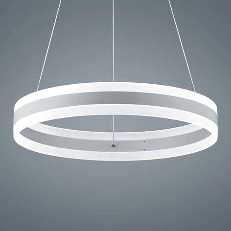 Helestra Liv - LED-Hängeleuchte, mattweiß, 60cm
