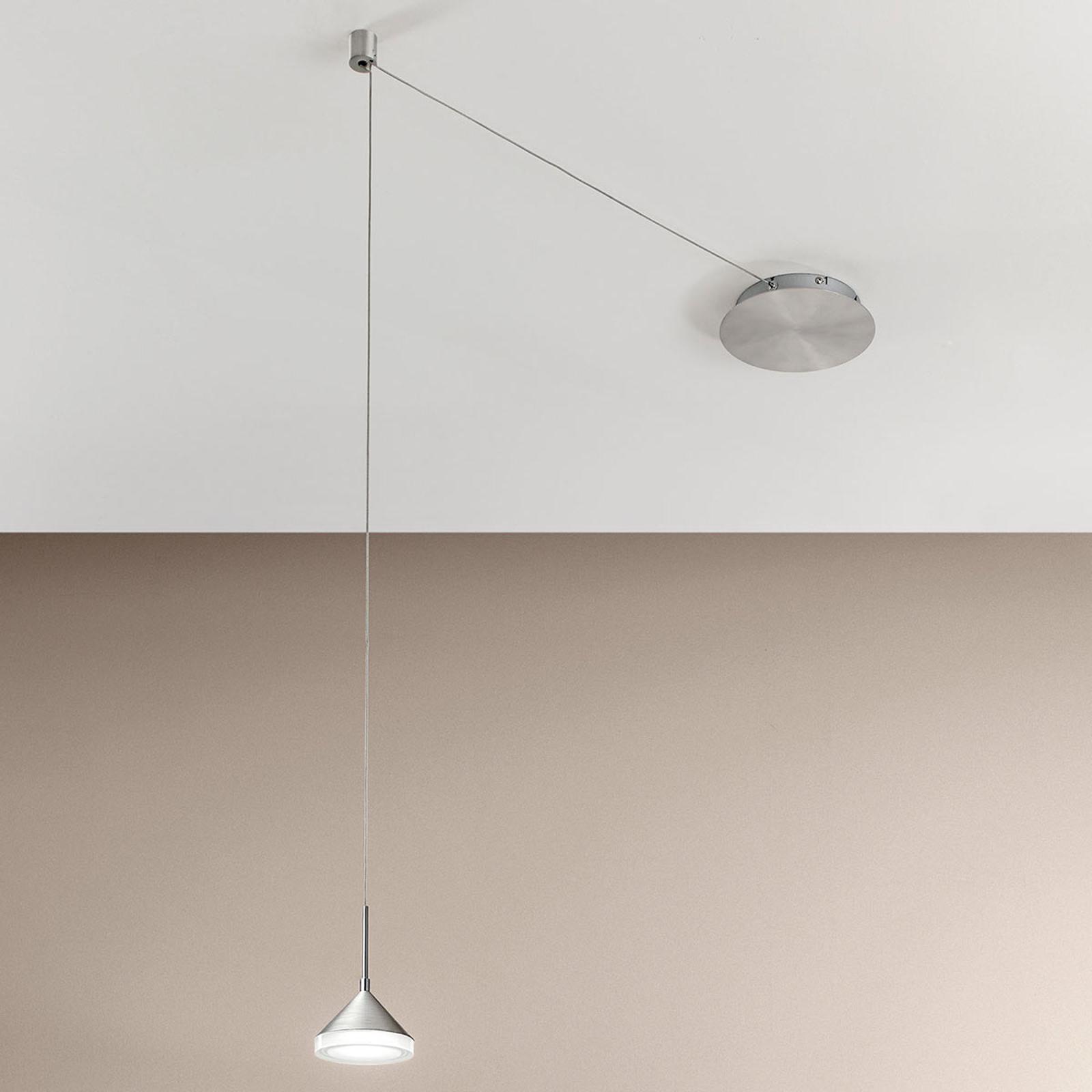 4gniazdka – lampa wisząca LED Isabella