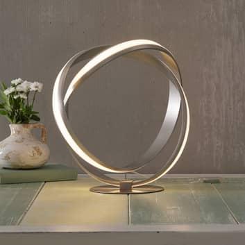 Lampa stołowa LED Melinda ze ściemniaczem