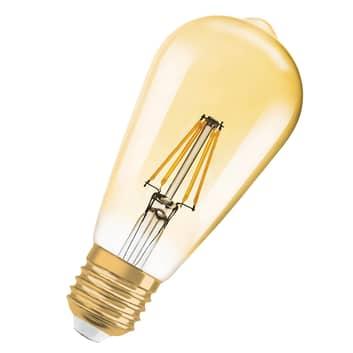 LED-lampa Gold E27 2,5W, varmvit, 225 lumen