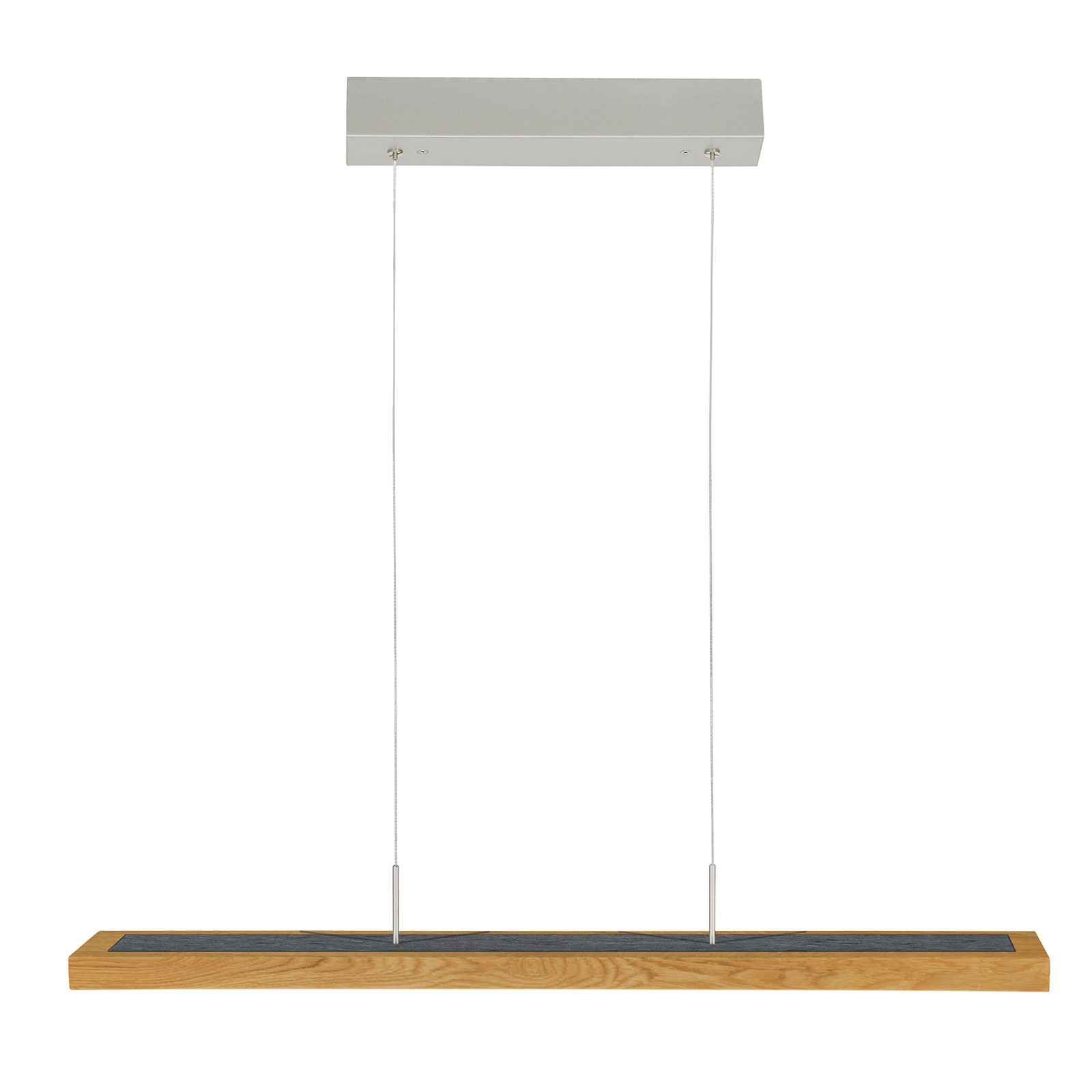 HerzBlut Dana lampada a sospensione rovere 90cm