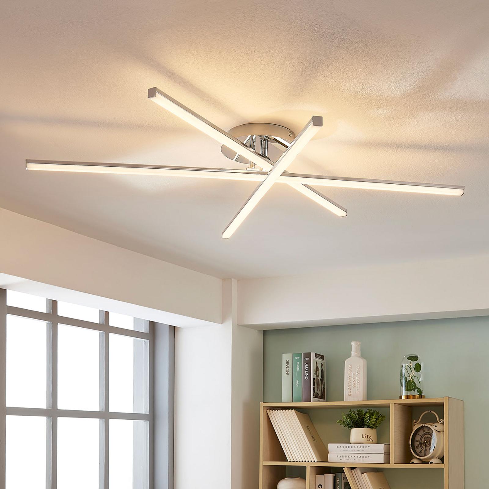 Plafonnier LED à 3 lampes Korona, variateur