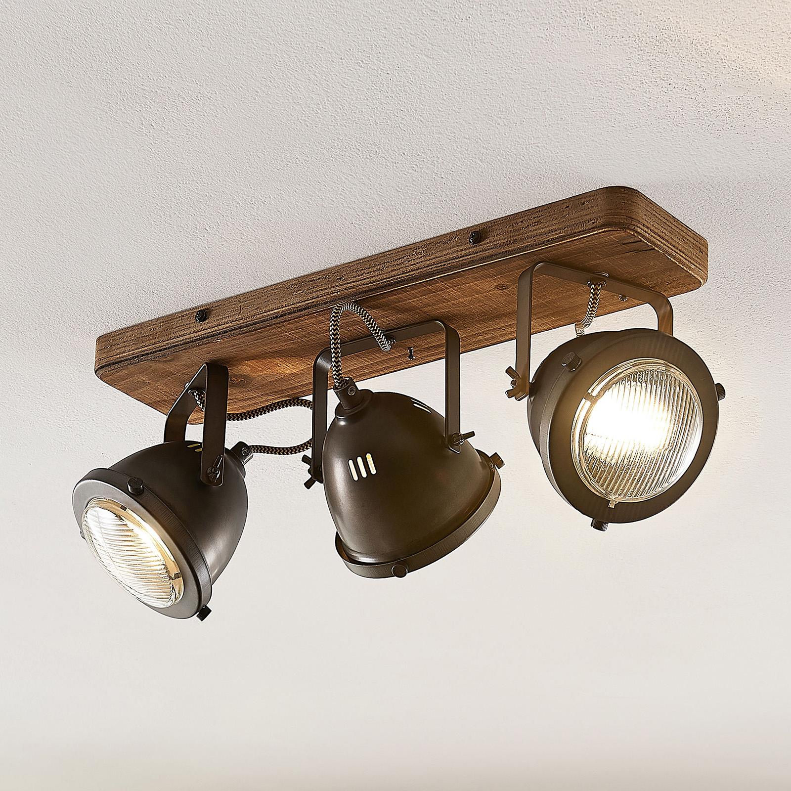 Lindby Shila kohdekattovalaisin, 3-lamppuinen