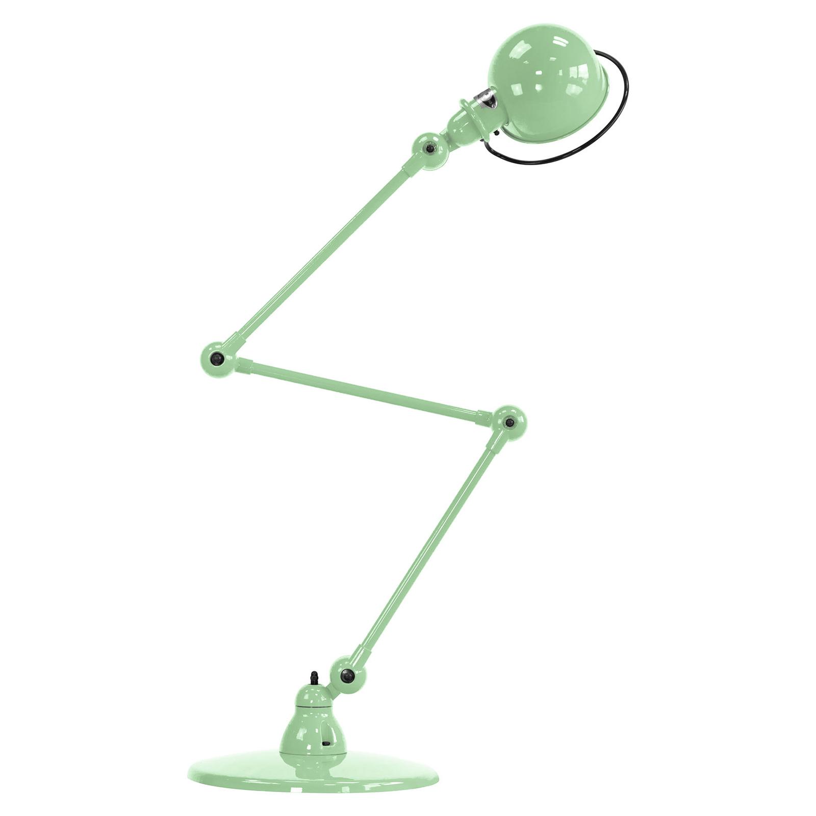 Jieldé Loft D9403 scharnier-vloerlamp, mintgroen