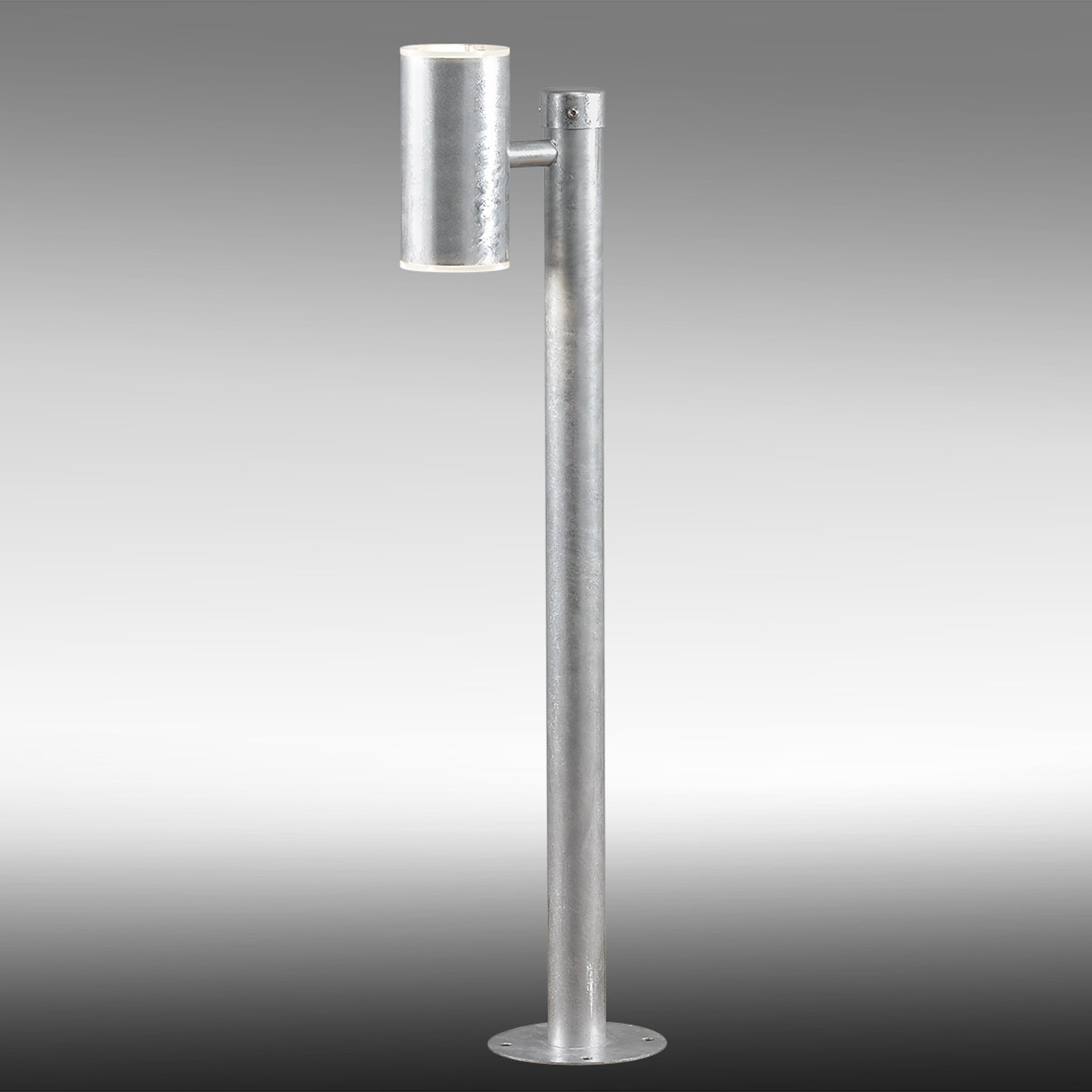 Varmförzinkad Ull LED väglampa – IP54, dimbar