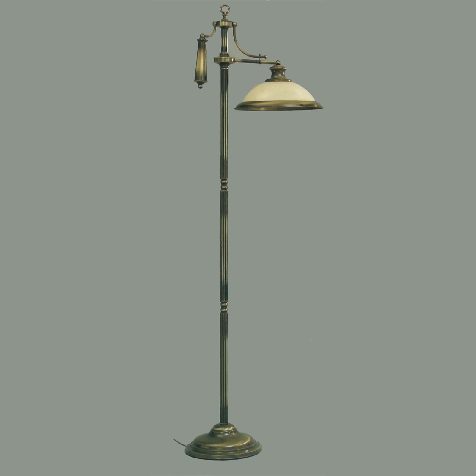 Rustykalna lampa stojąca VALENTINA