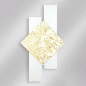 Wandlampe Bandiera GD 0009/PL90, blattgold 90 cm