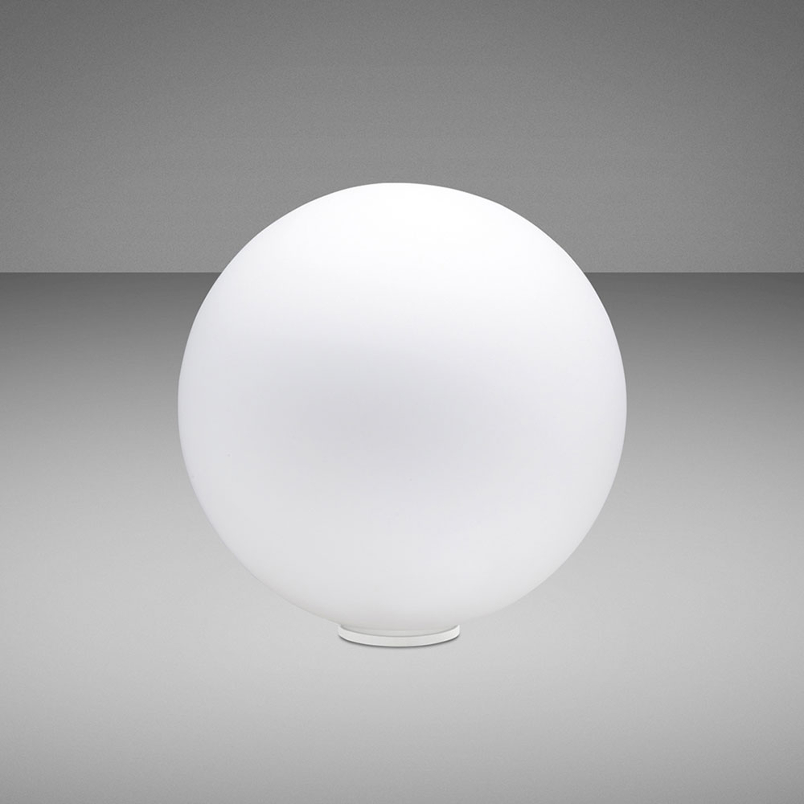 Fabbian Lumi Sfera bordlampe, liggende, Ø 20 cm
