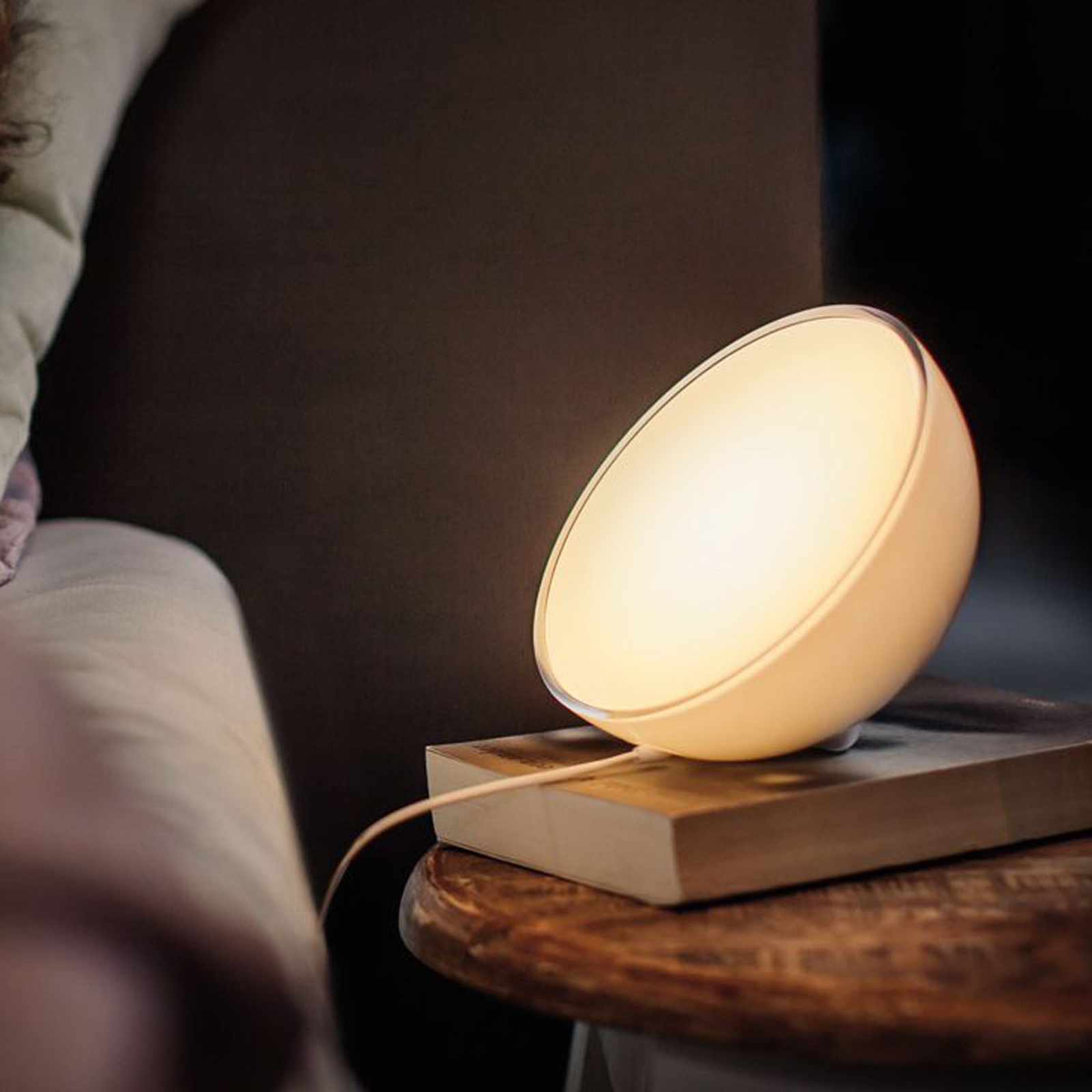 Philips Hue Go tafellamp, White and Color Ambiance