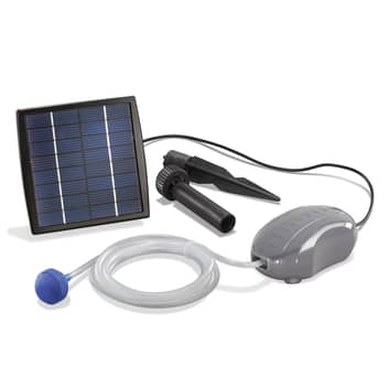 Soldriven luftare för trädgårdsdamm Solar Air-S