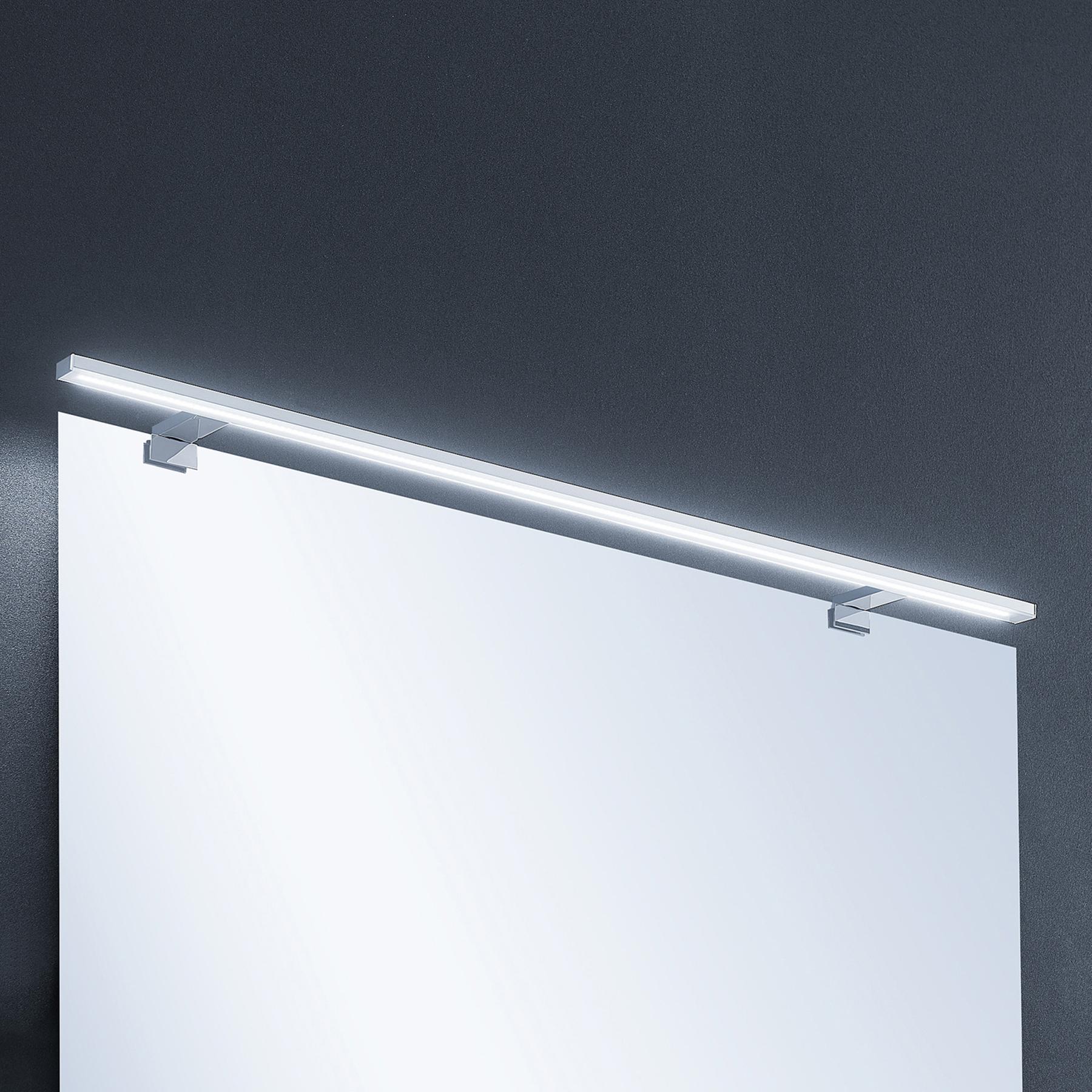 Lindby Lusano applique salle de bain LED aluminium