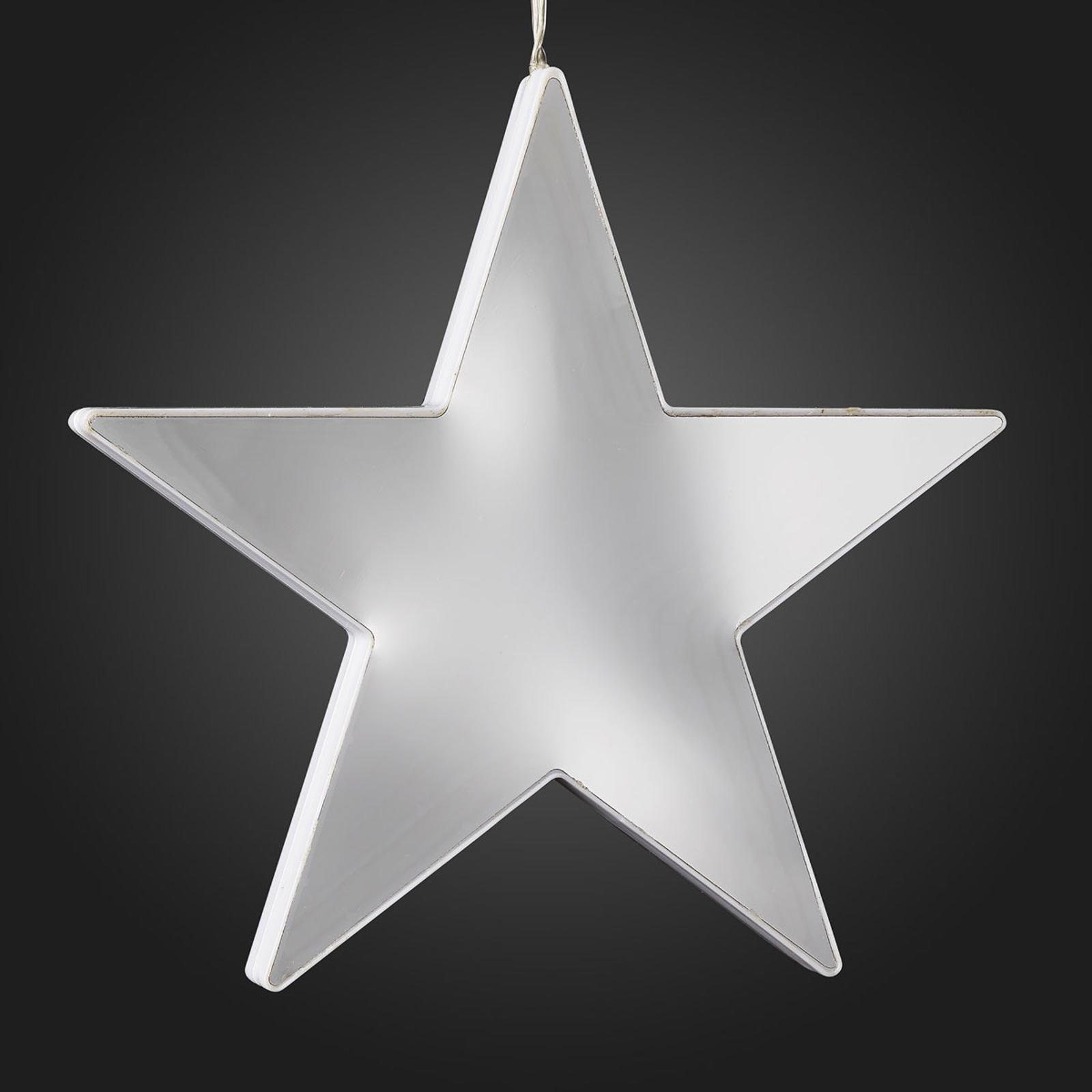 Étoile LED effet Infinity à suspendre