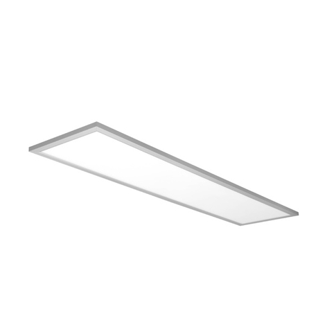 Rechteckiges LED-Panel All in One