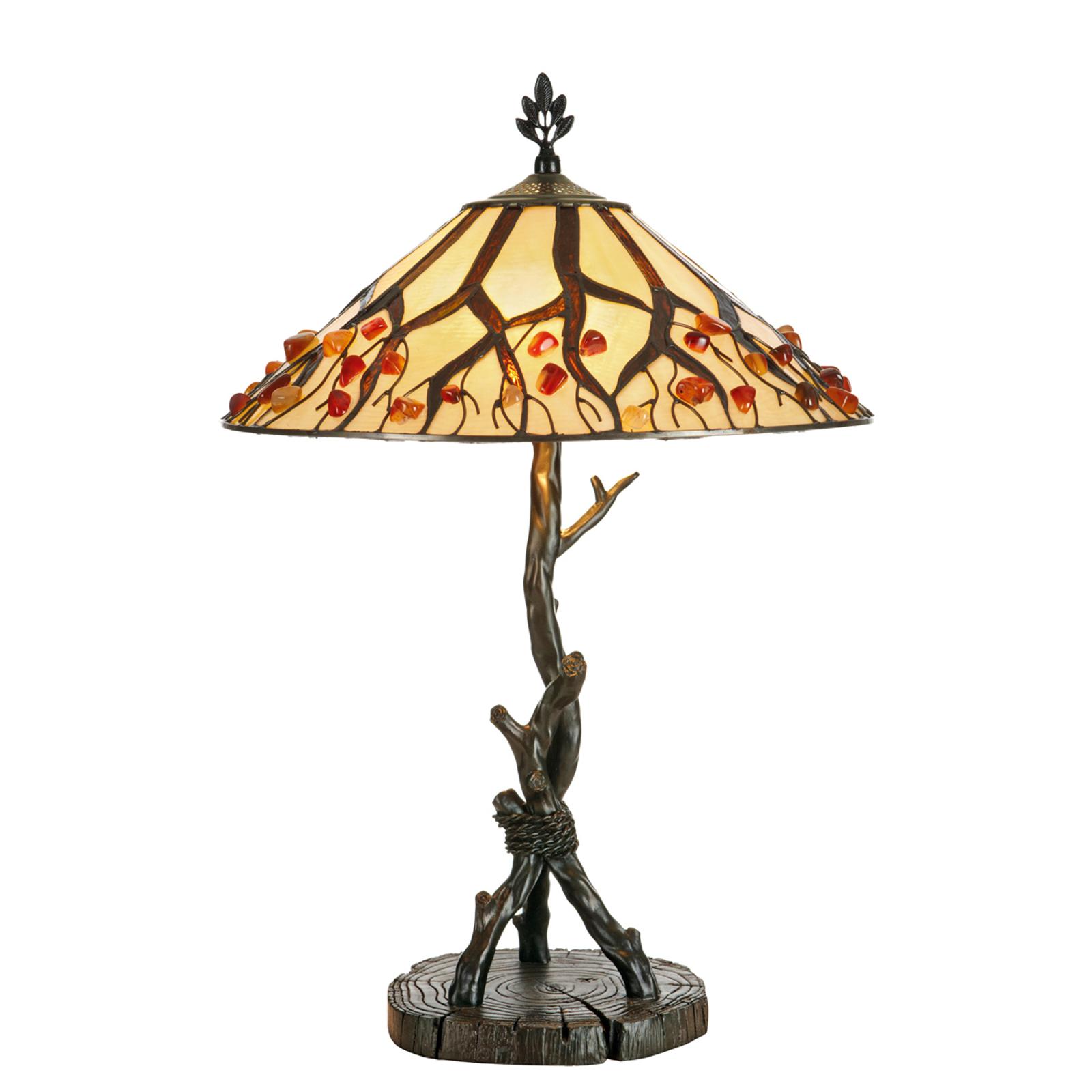 Ovanliga bordslampan Jordis