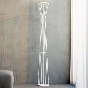Rotaliana Lightwire F1 LED-gulvlampe, hvid
