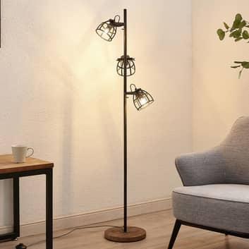 Lindby Rutger golvlampa, 3 lampor