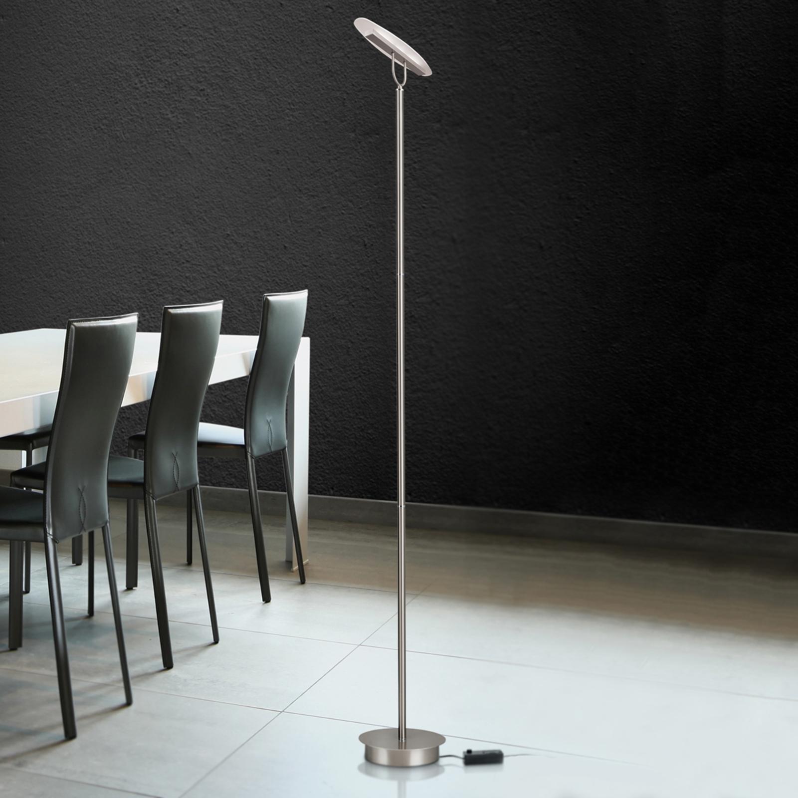Dimbare LED-vloerlamp Sabira
