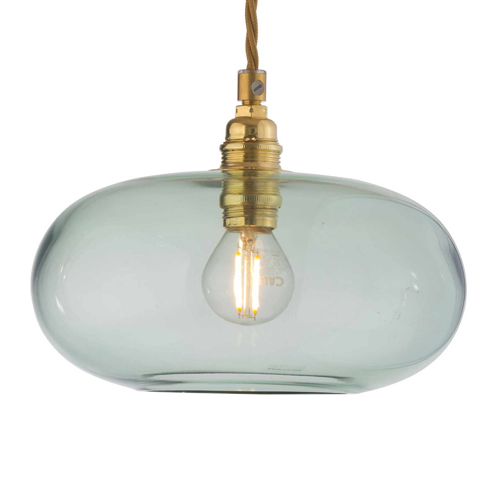 EBB & FLOW Horizon lampa wisząca zielona Ø 21 cm