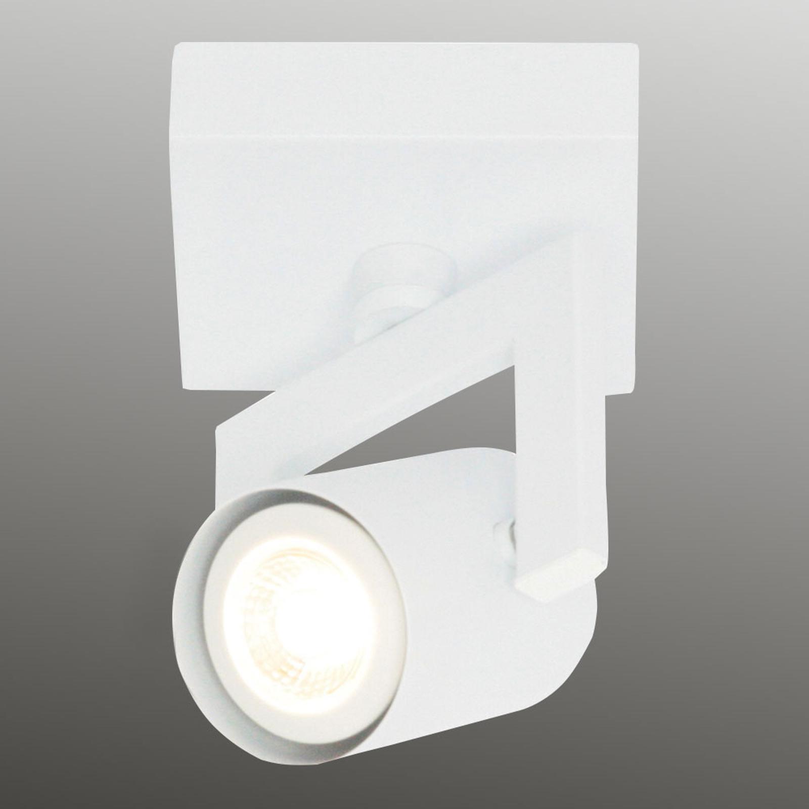 Hvit taklampe Valvo LED, 1 lyskilde