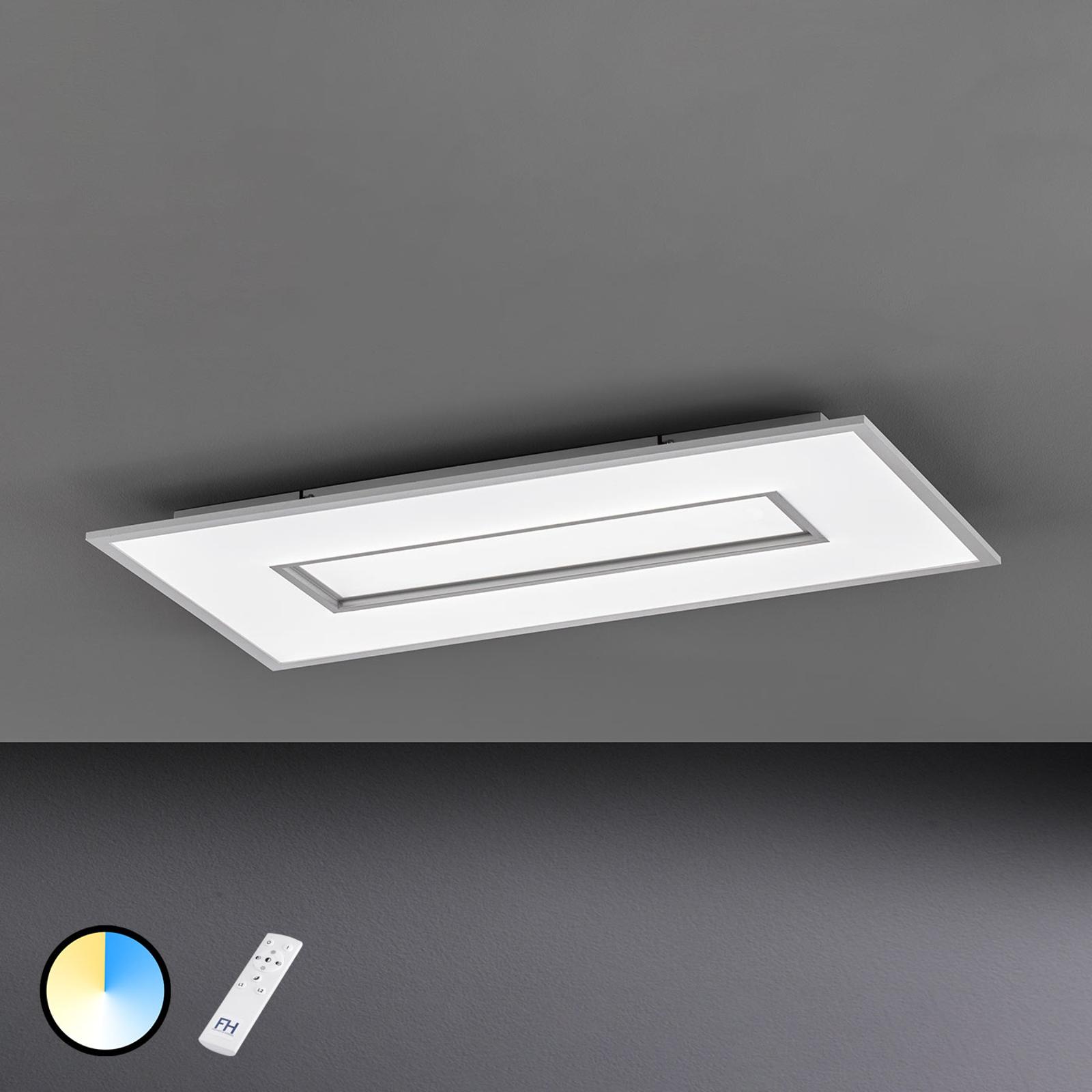 Lampa sufitowa LED Tiara prostokąt 80x40 cm