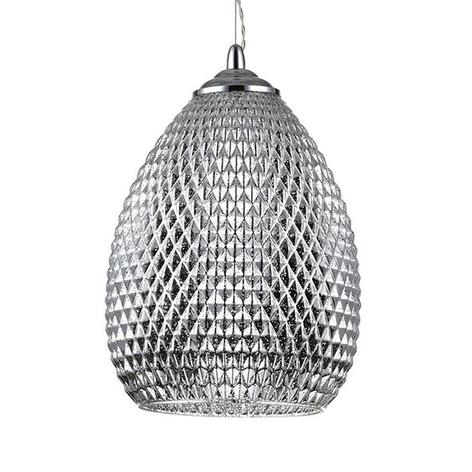 Hanglamp Moreno met glasornamenten, Ø 22cm