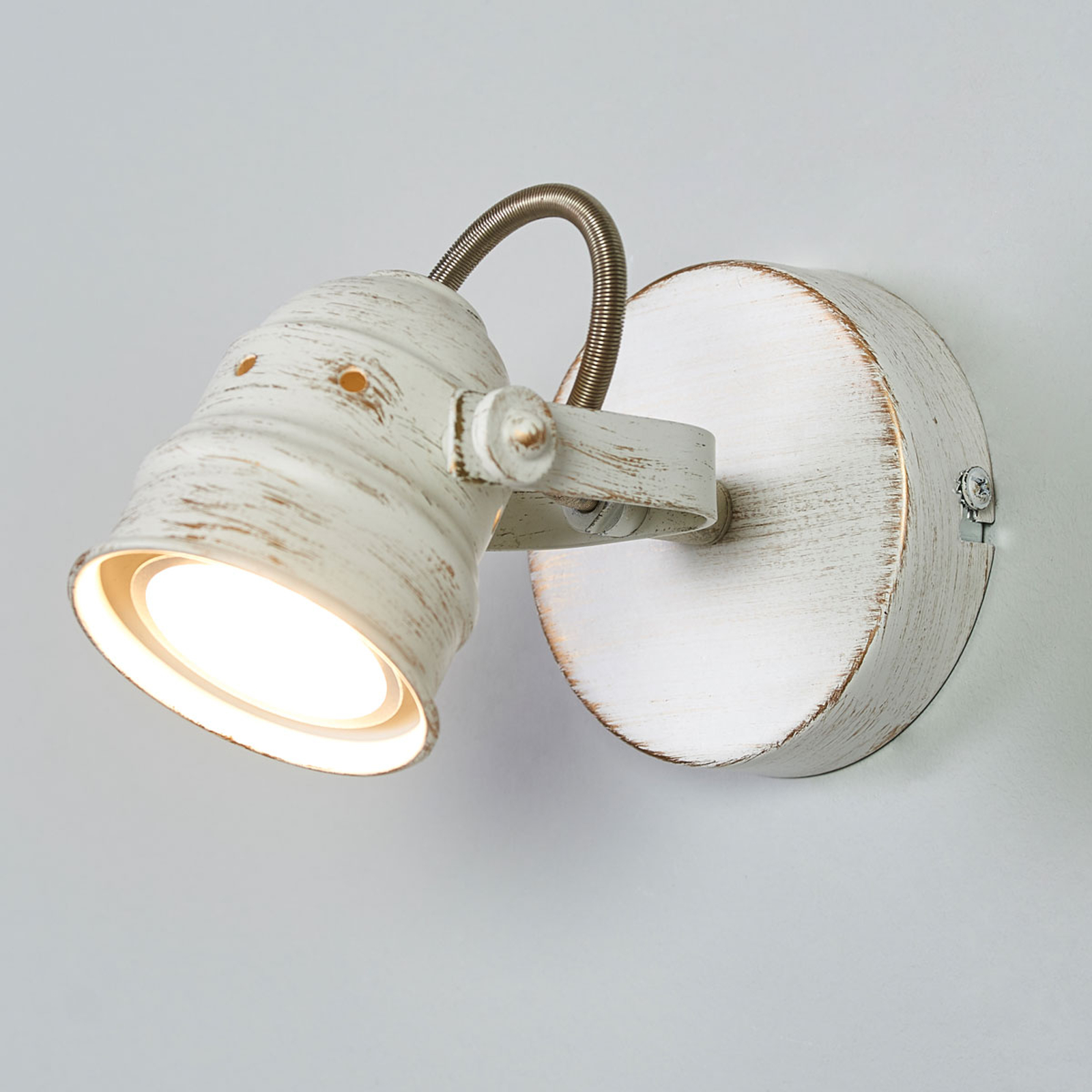 Acquista Spot Leonor bianco con lampadina LED GU10