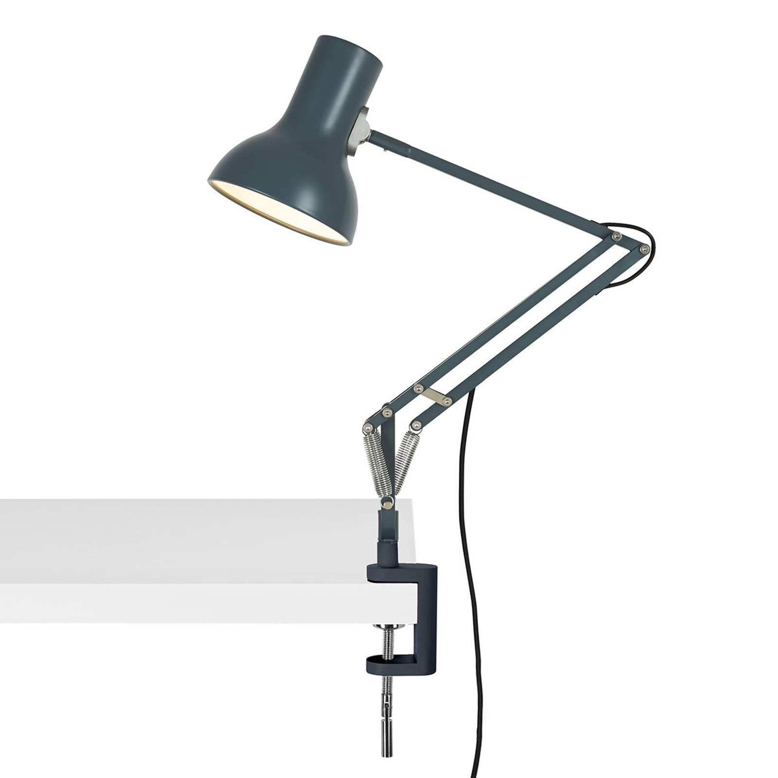 Anglepoise Type 75 Mini klemlamp lijsteengrijs
