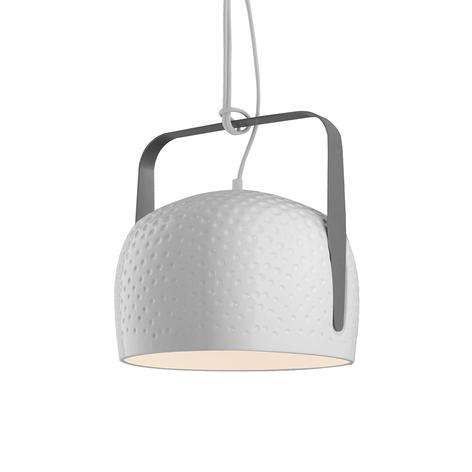 Karman Bag lámpara colgante blanca 21cm estructura