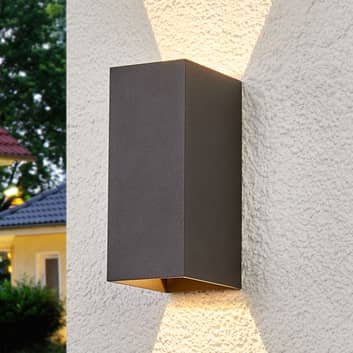 Mikka: aplique LED de exterior de dos llamas
