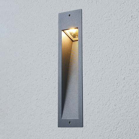Foco de pared LED empotrable 33108AK3 rectangular