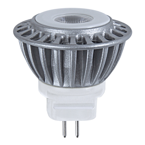 GU4 MR11 4 W 827 LED a riflettore 12V, 25°