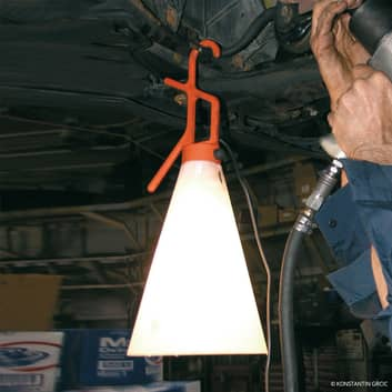 FLOS Mayday arbetslampa i orange
