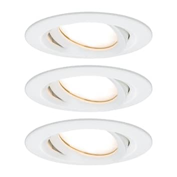 Paulmann Nova Plus 3-pack LED-spot rund